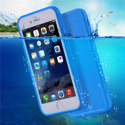 Waterproof-Shockproof-Swimming & Dive Case Cover For iPhone 5S-6S-6-7 & 7 Plus