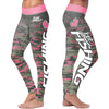 Love Fishing Pink Camo Leggings