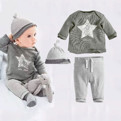 Monster Bear 2 PC Set And Rompers