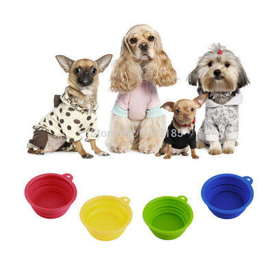 Pet Collapsible Travel Bowl