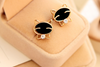 Black Smile Cat High-Grade Fine Stud Earrings - FREE