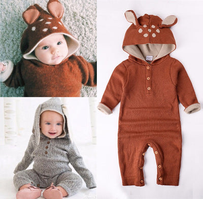 Knit Fox And Bunny Jumpers