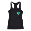 Joyful Heart Black Racerback