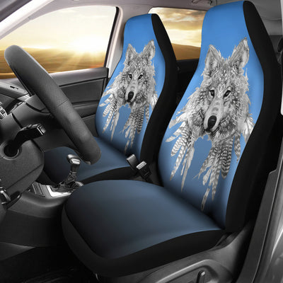 Spirit Animal Wolf Car Seat Covers