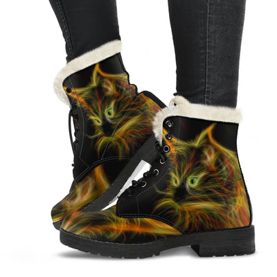 Rave On Fur Boot