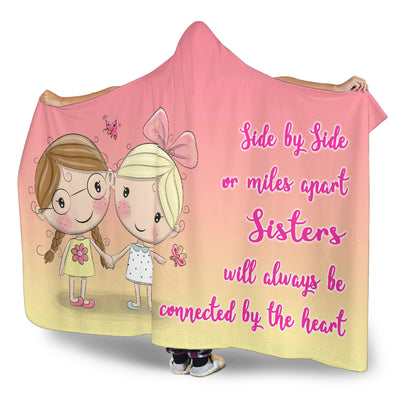 Sister Love Hooded Blanket