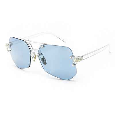 Retro Rimless Sunglasses