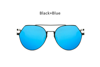 Megalast Mirrored Aviator Sunglasses-Unisex