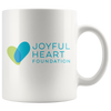 Joyful Heart Mug - White
