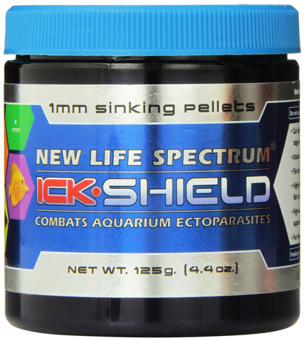 New Life Spectrum Ick Shield Sinking Pellet Food 125g