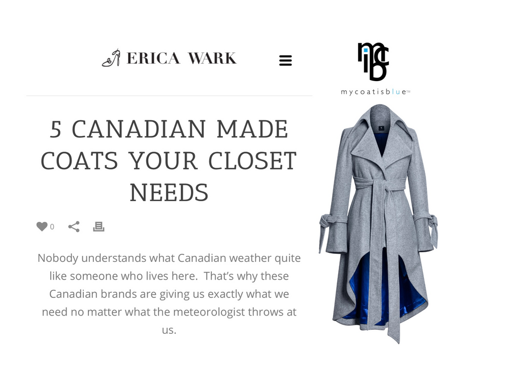 ERICAONFASHION - 5 CANADIAN MADE COSTS YOUR CLOSET NEEDS