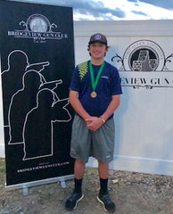 Grant Dunn in his HardFocus at the LOUISIANA 4-H Southern Regional where he finished 6th overall out of 167 shooters
