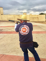 Brian Anderson, Arizona Skeet Shooter wearing the HardFocus on America Tee