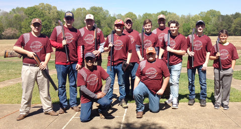 HardFocus supports the St. Clair Co. Clay Cutters 4-H Youth team wearing Vintage Logo Tee with GrypVyn