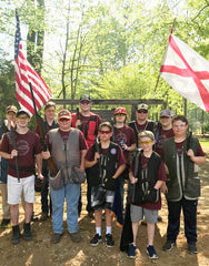 St. Clair Co. Clay Cutters at Alabama 4-H Shoot