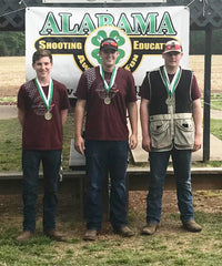 St. Clair Co. Clay Cutters 3rd Place Sr. Skeet Team