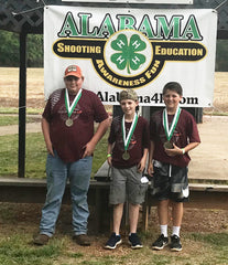 St. Clair Co Clay Cutters - 2nd Place Jr. Skeet