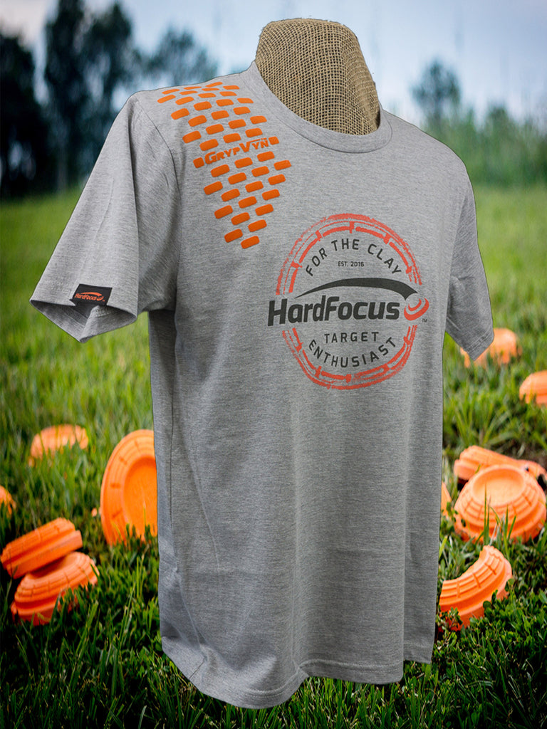 Heather Gray Vintage Logo +  Orange GrypVyn™