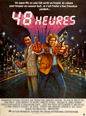 48 hrs french original film art