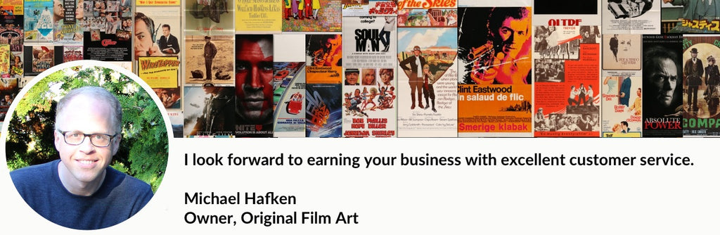 Original Film Art - Vintage Movie Posters - Welcome and About Us
