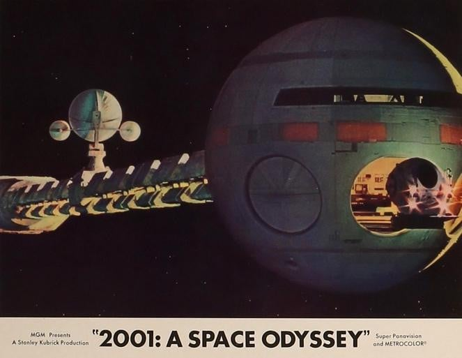 2001: A Space Odyssey (1968)