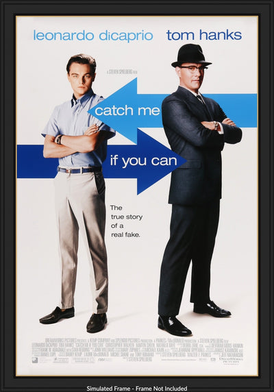 Catch Me If You Can 2002 Original One Sheet Movie Poster