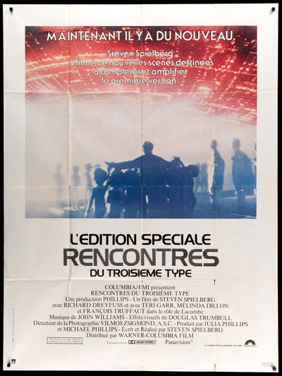 Close Encounters of the Third Kind (1977)-Original Film Art - Vintage Movie Posters