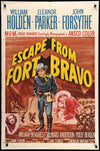 Movie Poster - Escape from Fort Bravo (1953)  - Original Film Art - Vintage Movie Posters