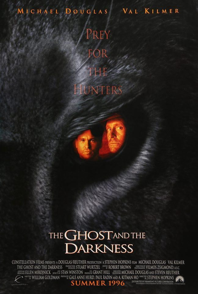 Ghost and the Darkness (1996)