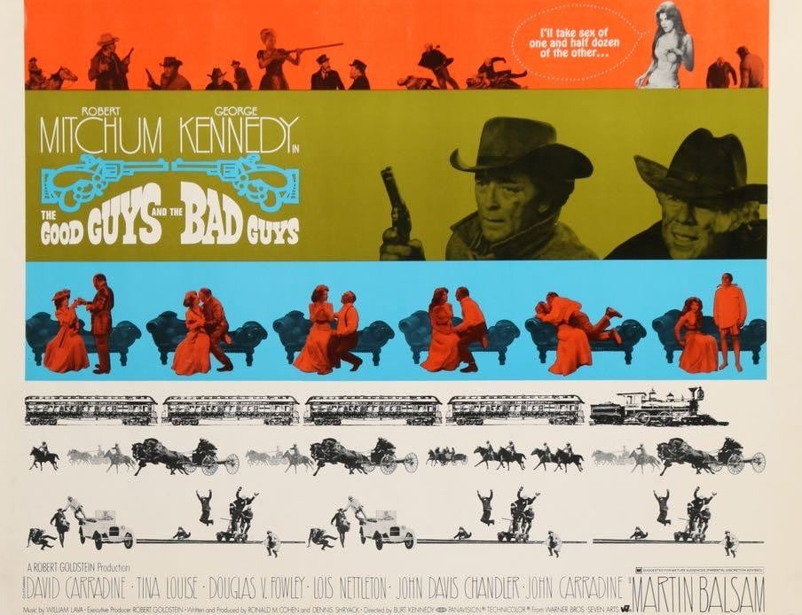 Good Guys and the Bad Guys (1969)