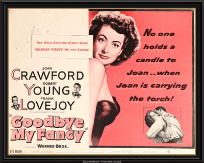 Movie Poster - Goodbye, My Fancy (1951)  - Original Film Art - Vintage Movie Posters