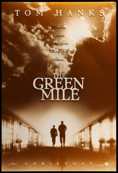 Movie Poster - Green Mile (1999)  - Original Film Art - Vintage Movie Posters