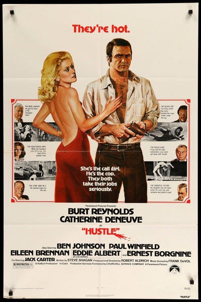Hustle (1975)-Original Film Art - Vintage Movie Posters