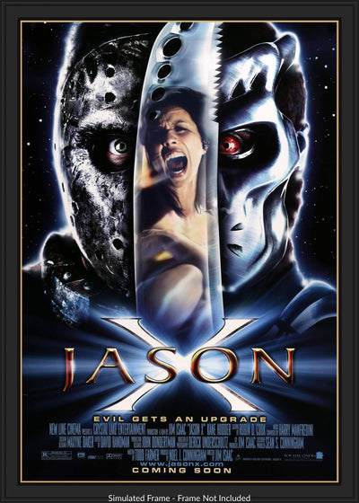 Jason X (2002)-Original Film Art - Vintage Movie Posters