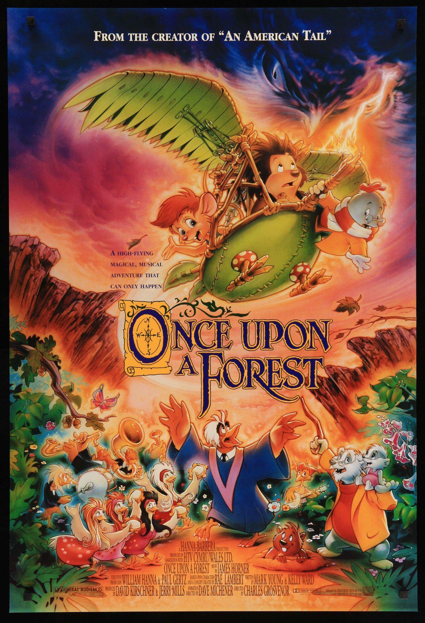 once upon a forest movie