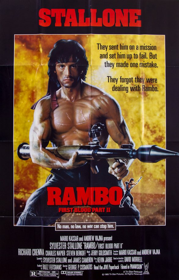 Rambo First Blood Part 2 (1985)