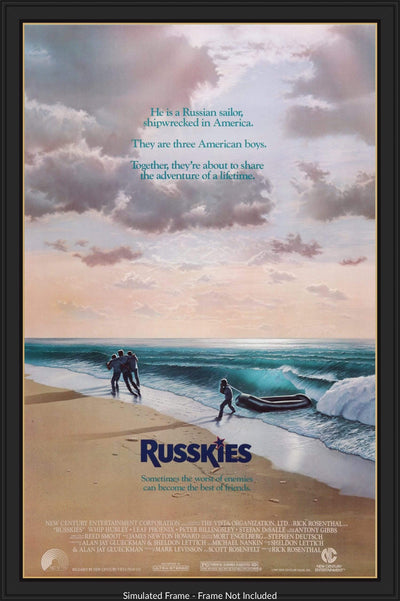Movie Poster - Russkies (1987)  - Original Film Art - Vintage Movie Posters