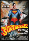 Movie Poster - Superman IV: The Quest For Peace (1987)  - Original Film Art - Vintage Movie Posters