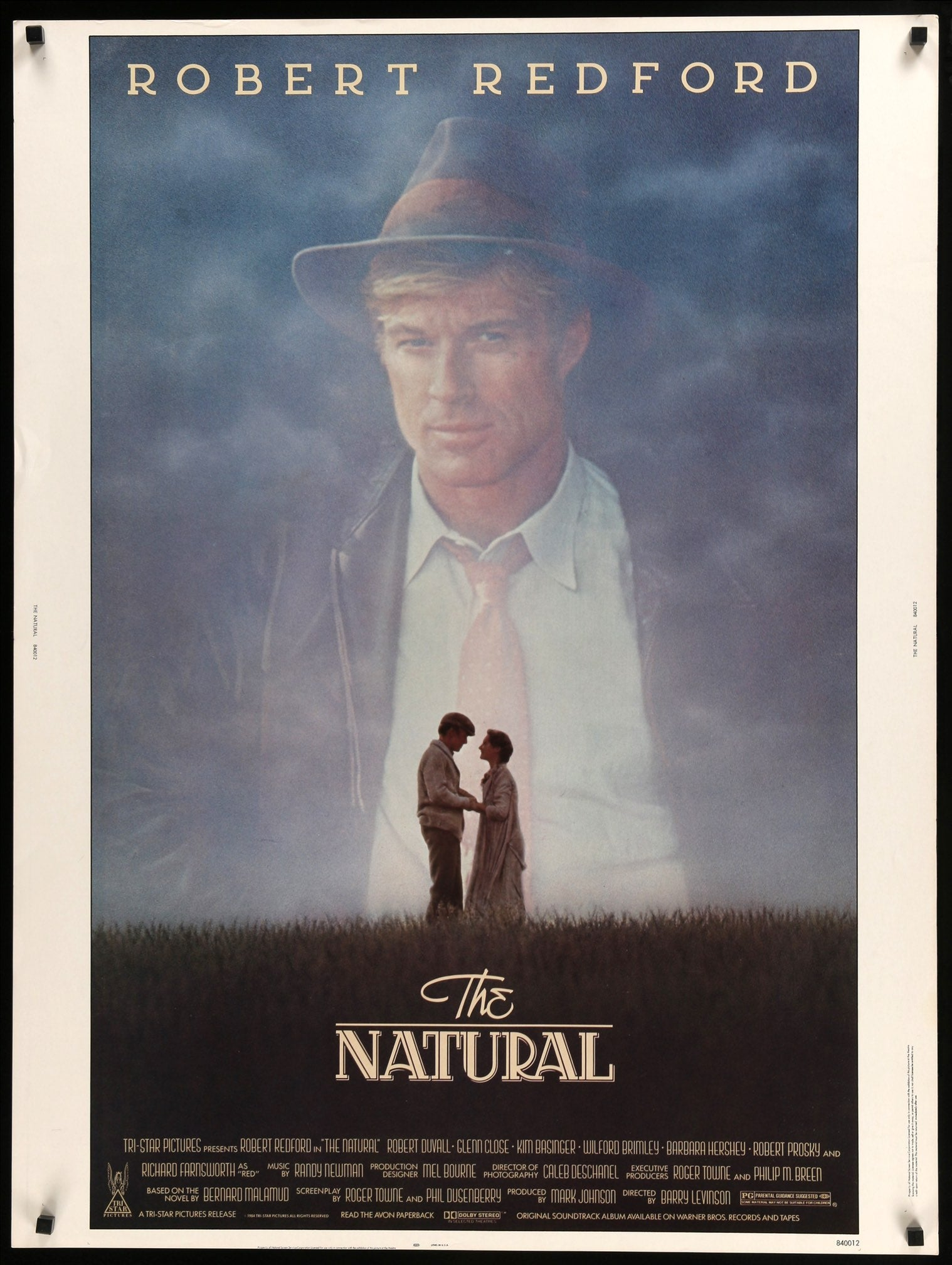 The Natural Movie Poster 24in x 36in