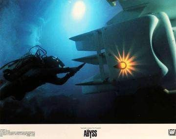 Abyss (1989) Lobby Cards - Set of 8