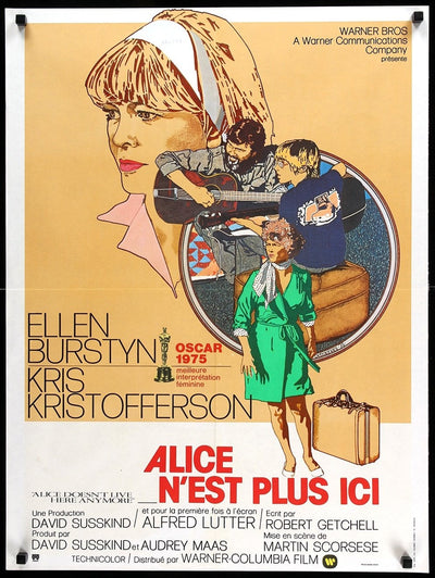 Alice Doesn't Live Here Anymore (1974)-Original Film Art - Vintage Movie Posters