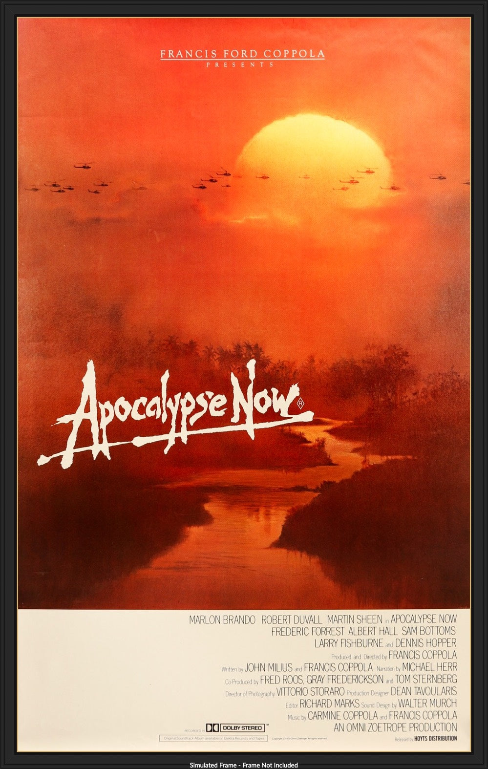 Apocalypse Now (1979) Original Australian One-Sheet Movie Poster - Original  Film Art - Vintage Movie Posters