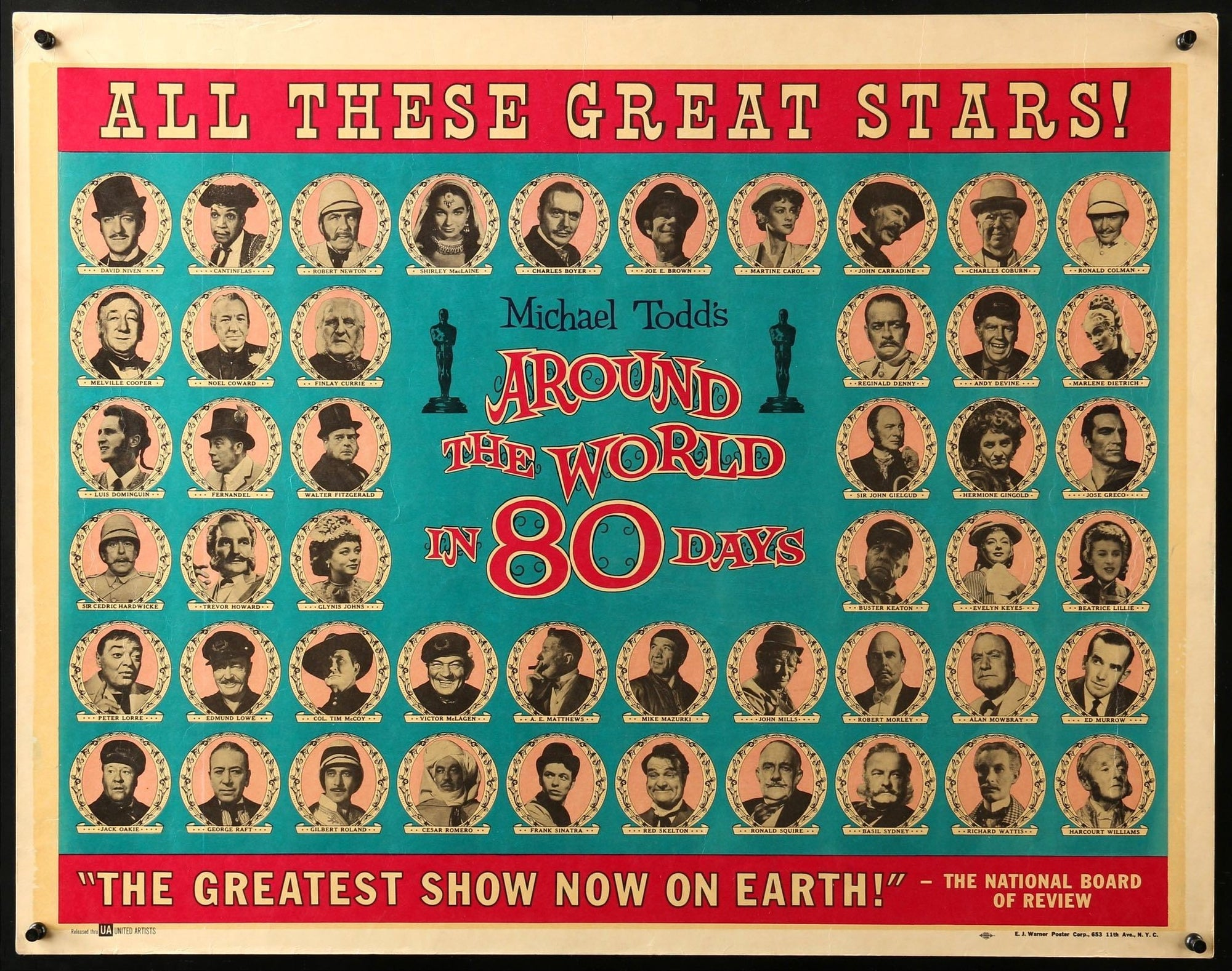 Hollywood Boulevard 1956 Academy Awards ~ 24 x 36 POSTER ~ NEW//ROLLED!