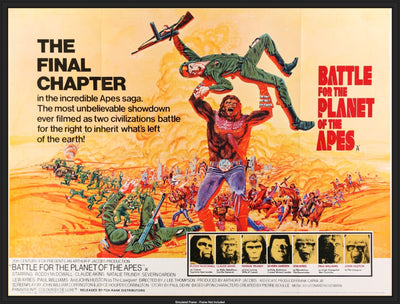 Battle For the Planet of the Apes (1973)-Original Film Art - Vintage Movie Posters