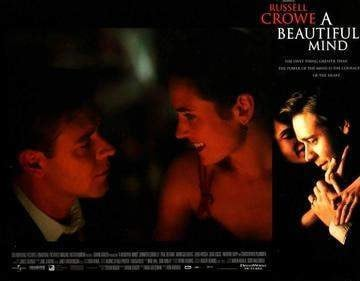 A Beautiful Mind (2001) Lobby Card