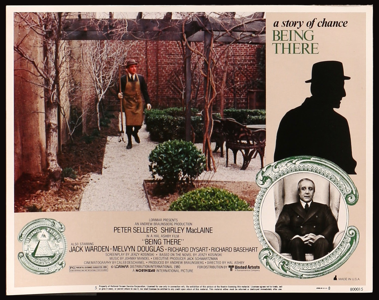Image result for BEING THERE MOVIE POSTER