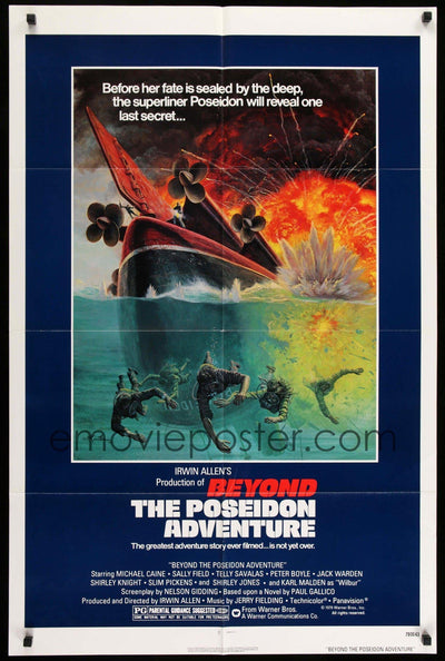 Beyond the Poseidon Adventure (1979)-Original Film Art - Vintage Movie Posters