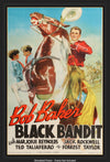 Movie Poster - Black Bandit (1938)  - Original Film Art - Vintage Movie Posters