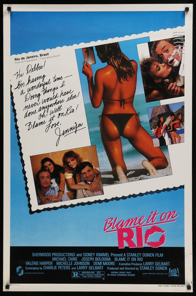 Blame it on Rio (1984) Movie Poster - Original Film Art - Vintage Movie Posters