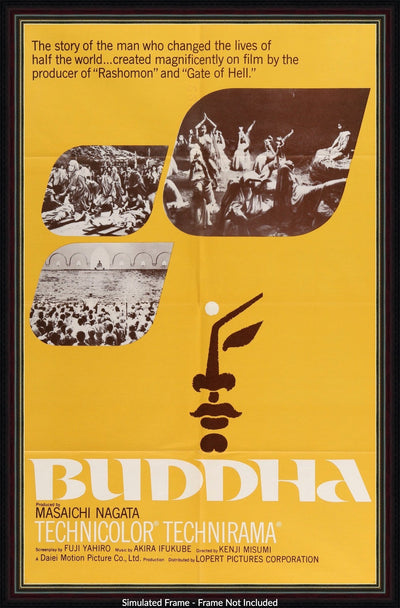 Movie Poster - Buddha (1961)  - Original Film Art - Vintage Movie Posters